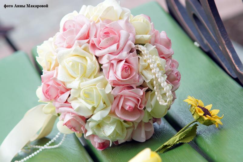 Букеты для свадьбы из фоамирана