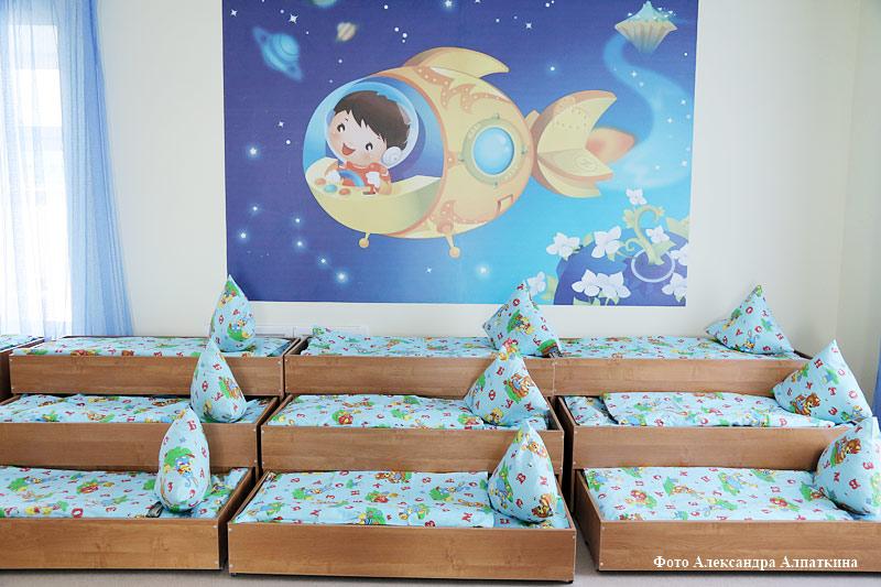 курган кровать детский сад