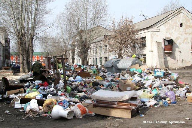 В Кургане хотят построить завод по переработке мусора