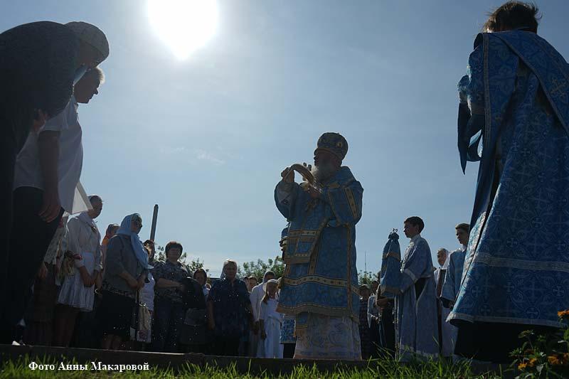Престольный праздник храма Порт-Артурского образа Божией Матери