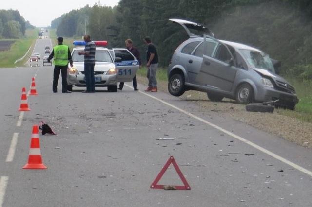 ВКурганской области вДТП пострадали 5 человек, втом числе младенец