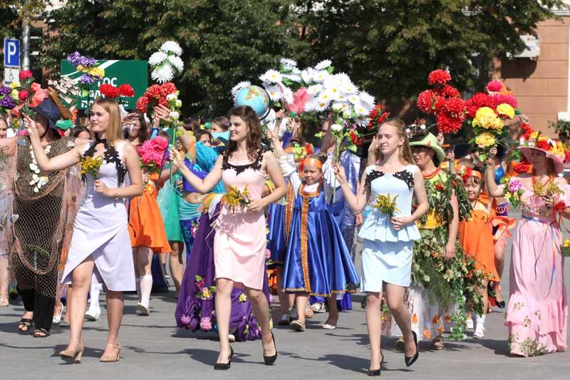 Курганцы празднуют День города