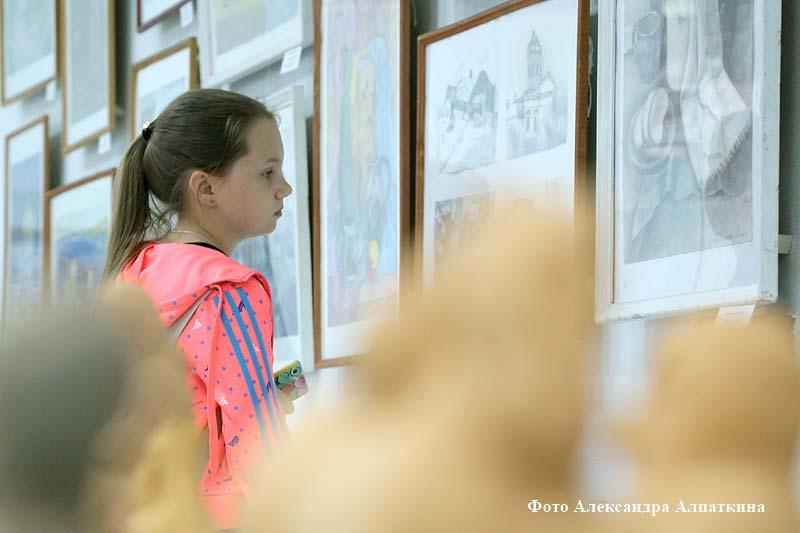 Выставка детского творчества «Зауральская палитра»