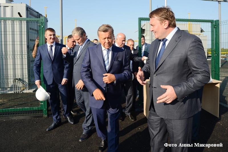 Председатель Совета директоров ПАО «Газпром» Виктор Зубков посетил газозаправочную станцию «Газпром» в Кургане.