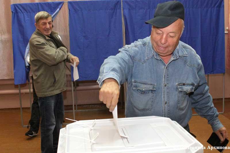 Единый день голосования в Кургане.
