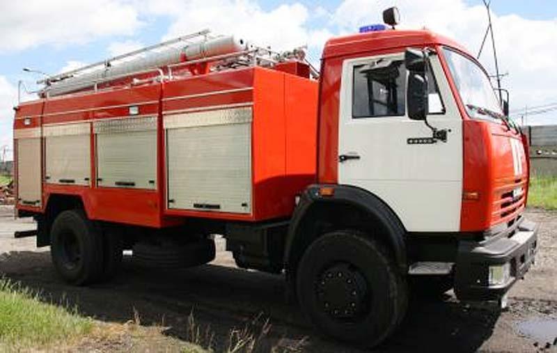 курган новости пожарная машина