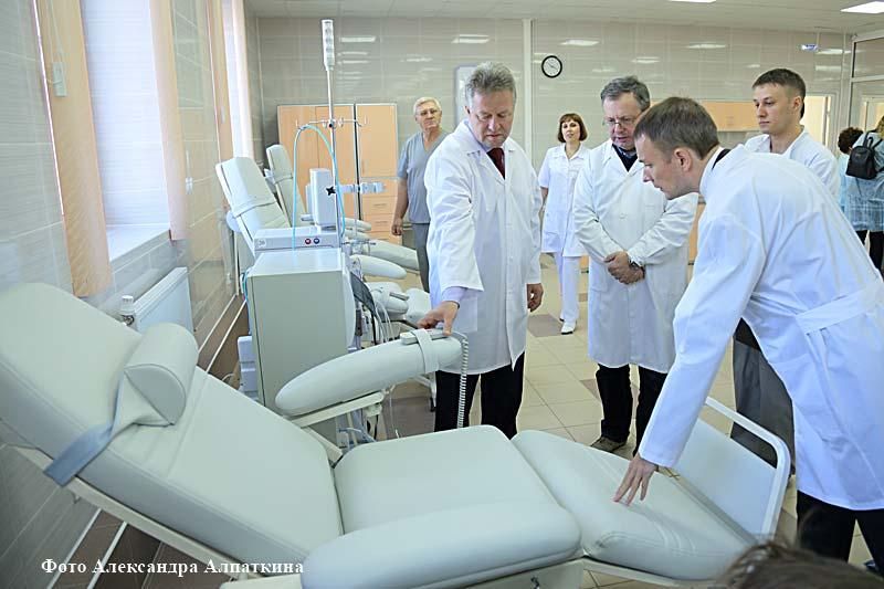 В курганском Центре амбулаторного диализа спасают пациентов с хронической почечной недостаточностью