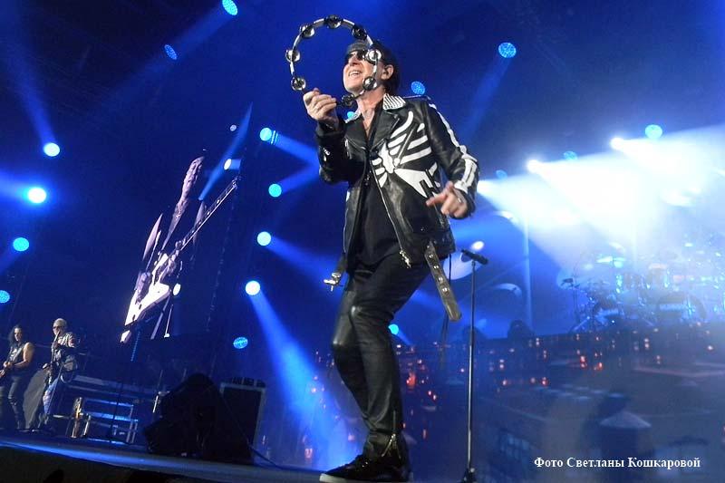 Концерт «Scorpions» в Екатеринбурге
