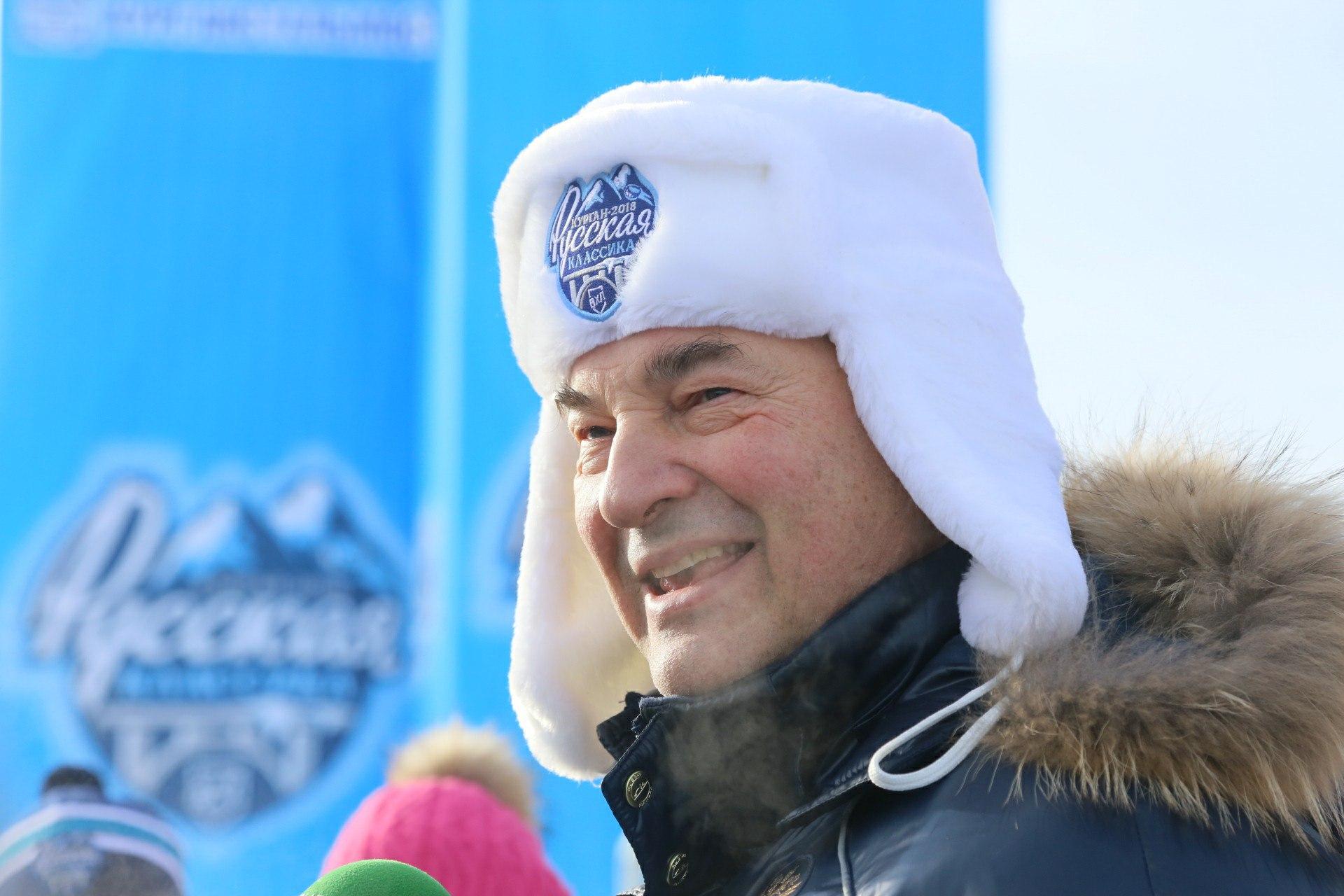 Идёт матч регулярного чемпионата ВХЛ «Зауралье» — «Рубин»