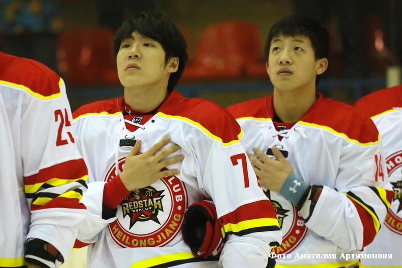 Игра ХК «Зауралье» - китайский «КРС Хэйлунцзян».
