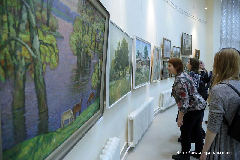 Курганская организация Союза художников России отмечает 50-летие