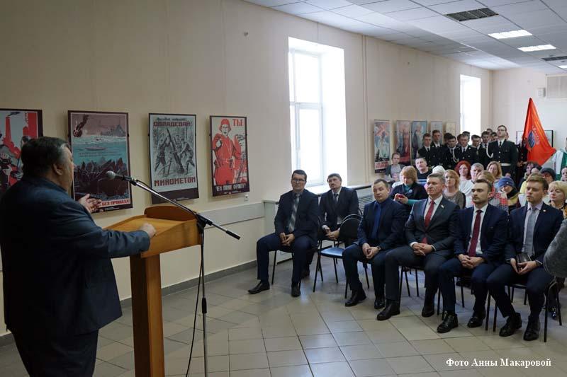 Историческая экспозиция «Молодые герои Победы».