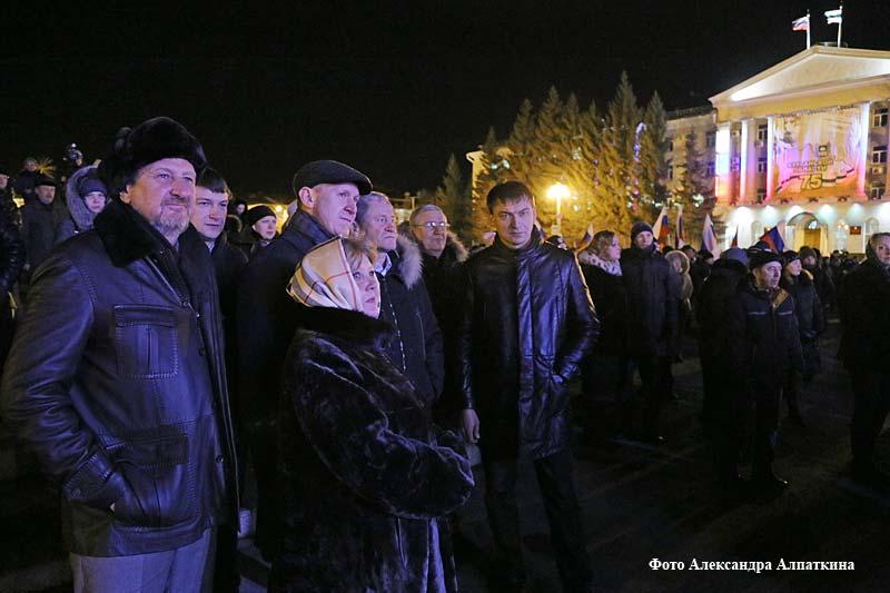 Праздничный концерт «Россия и Крым – вместе навсегда!»