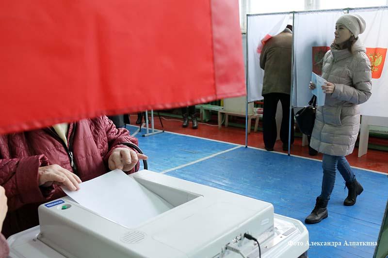 В Кургане выбирают Президента.