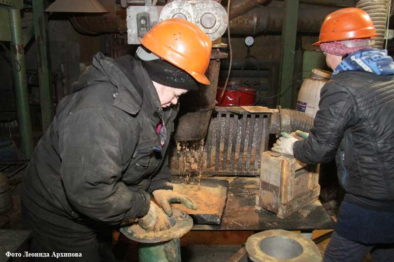 """В Кургане заработало новое производство ООО """"Пульсатор"""" по выплавке металла"""