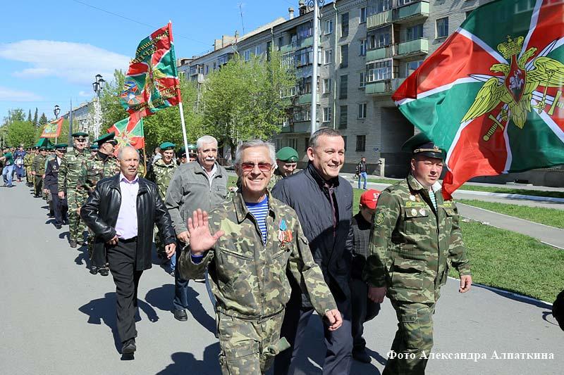 Первый областной памятный боевой расчёт зауральских пограничников.