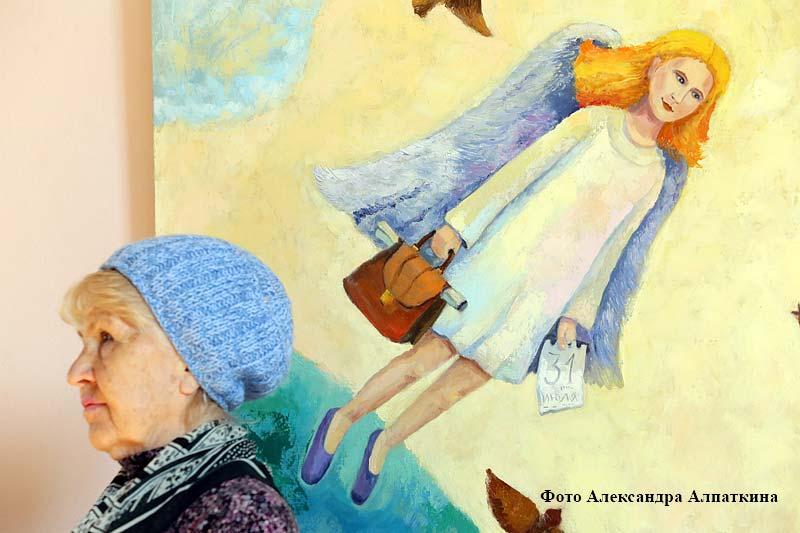 """В Кургане открылась выставка """"Ангелы Мира""""."""