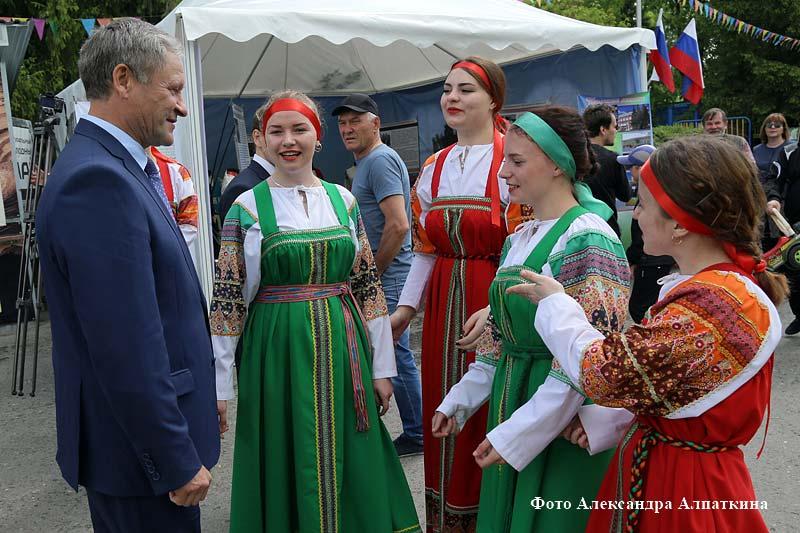 Курганцы отметили День России.