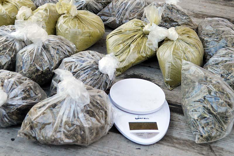 Из незаконного оборота изъято более 7 килограммов наркотиков