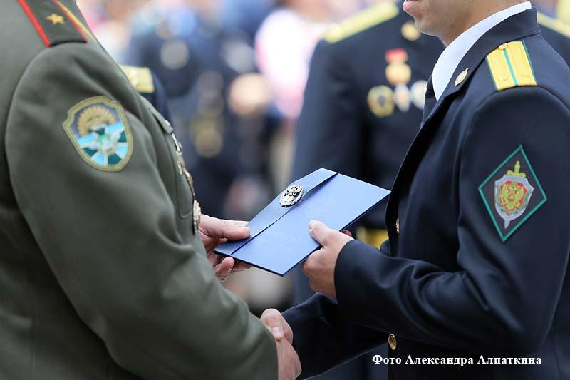 В Кургане состоялся десятый выпуск офицеров-пограничников.