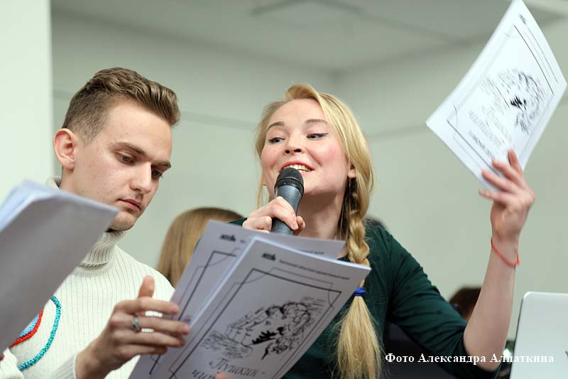 Курганцы совместно читают произведения Александра Пушкина.