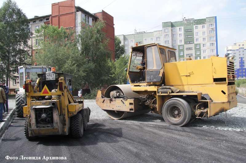 В Кургане продолжается летняя ремонтная кампания