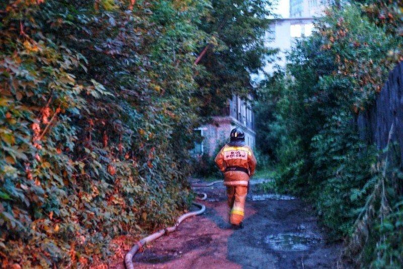 Пожар на Климова, 13а