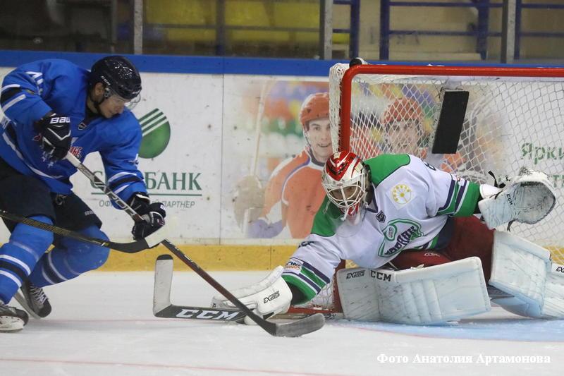 Курганская хоккейная команда потерпела первое поражение в текущем межсезонье