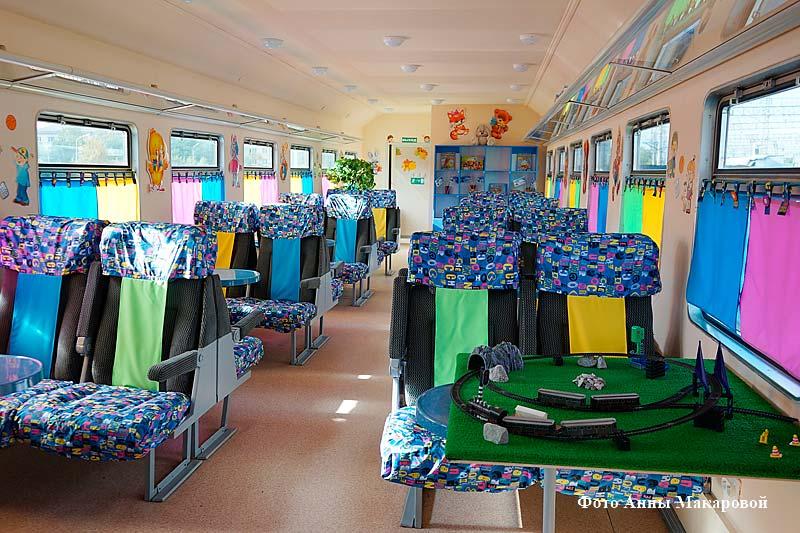 На курганском вокзале установили вагон-учебный центр