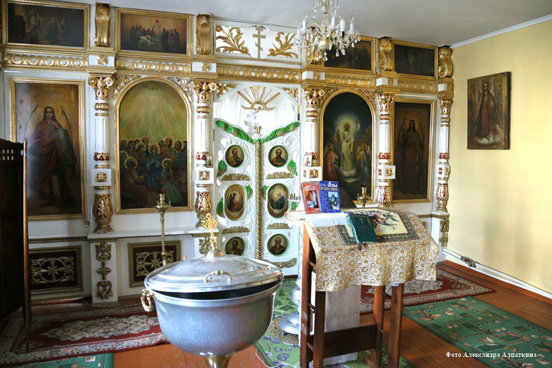 Архиерейское подворье храм Святого Духа в Смолино