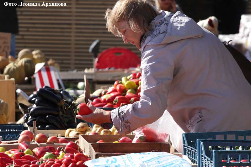 Ярмарка сельхозпродукции «Дары осени»