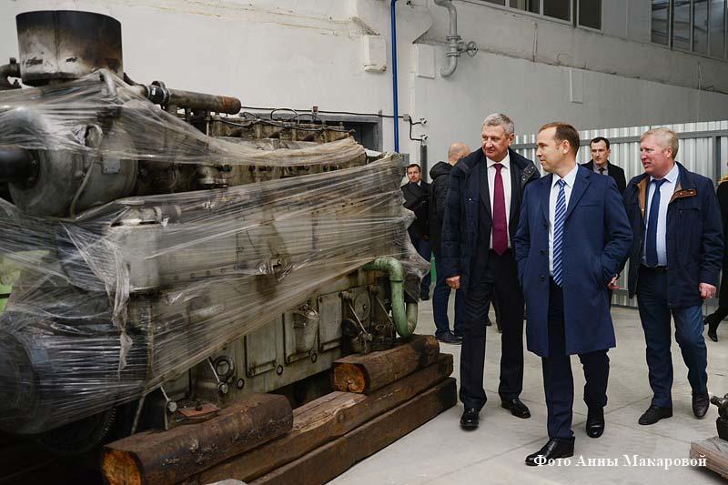 Врио губернатора Курганской области Вадим Шумков познакомился с работой коллективанаучно-производственного объединения «Курганприбор».