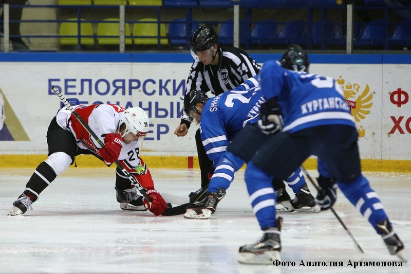 «Зауралье» принимало одного из лидеров чемпионата – новокузнецкий «Металлург».