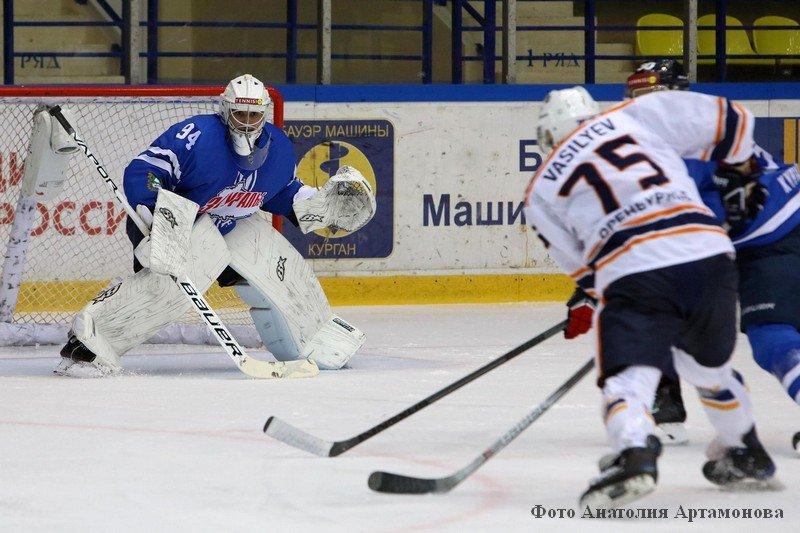 Заурлье vs Южный Урал чемпионата ВХЛ курган новости хоккей