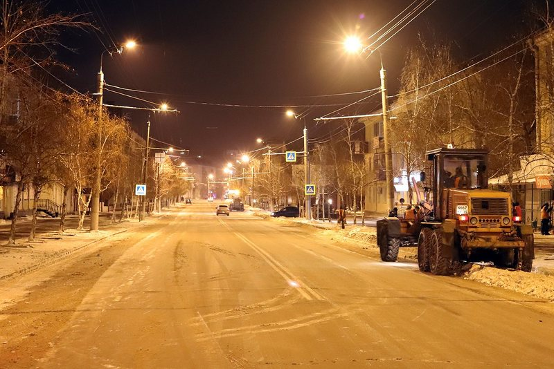 Новости Курган уборка снега