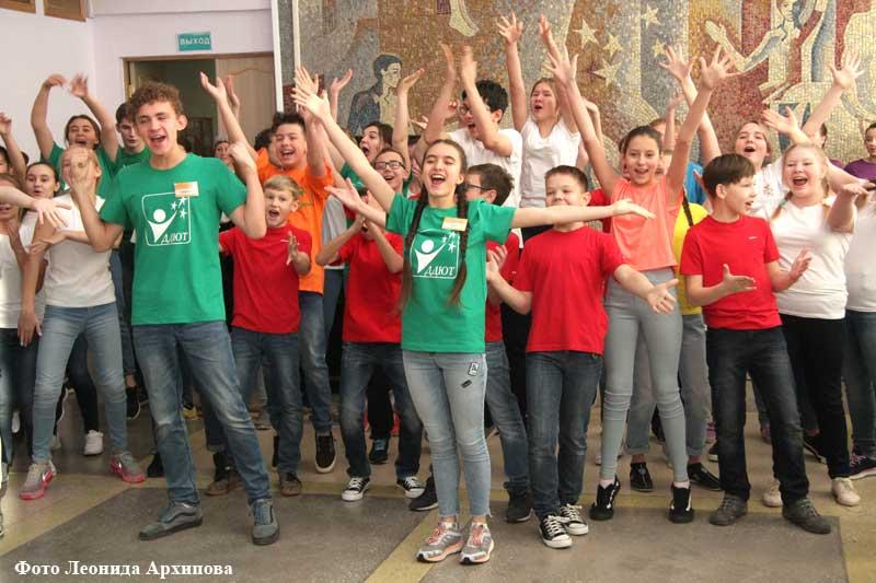 Открытие Дворца творчества юных после капремонта