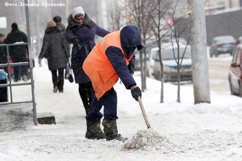 Новости Курган уборка удиц от снега