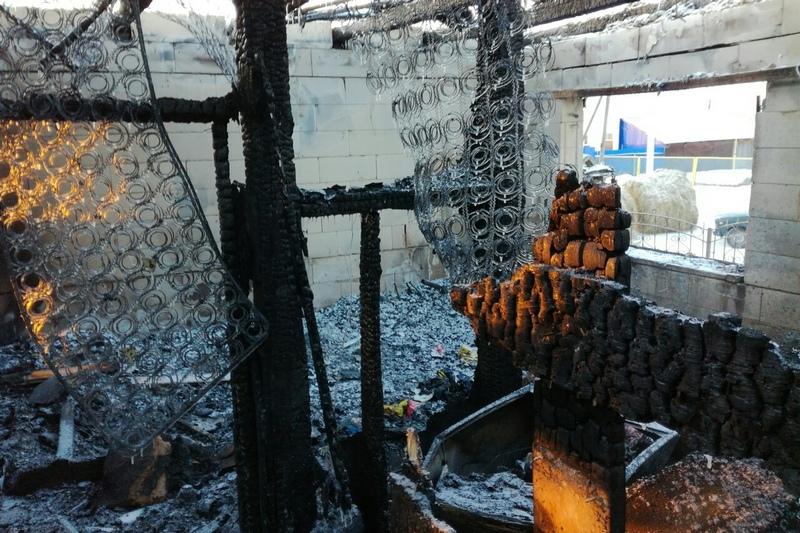 Новости Курган пожар