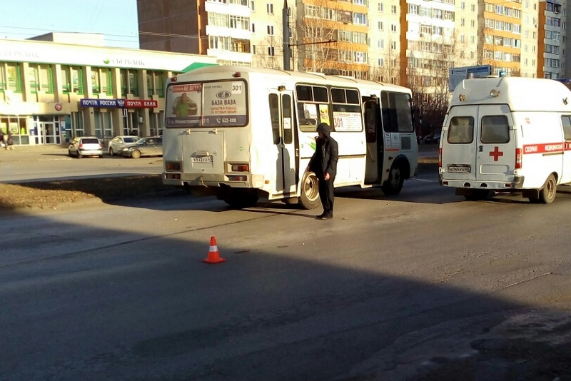 Новости Курган ПАЗ сбил пешехода