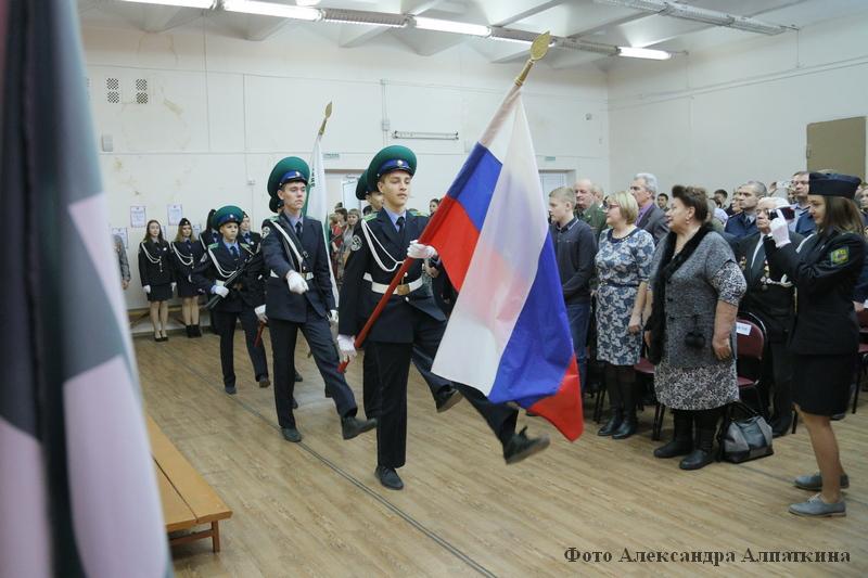 решено присвоить кадетскому классу 6 «А» имя Виктора Щукина