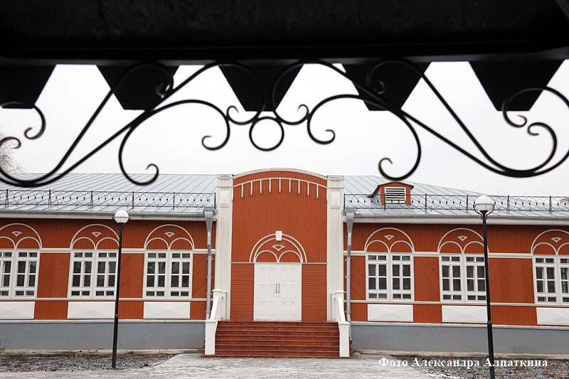 Обновлённый сквер барона Розена