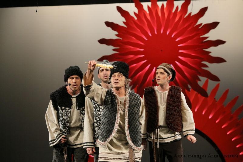 Курганский театр драмы приготовил для детей на новогодние праздники мюзикл «Конек-горбунок».