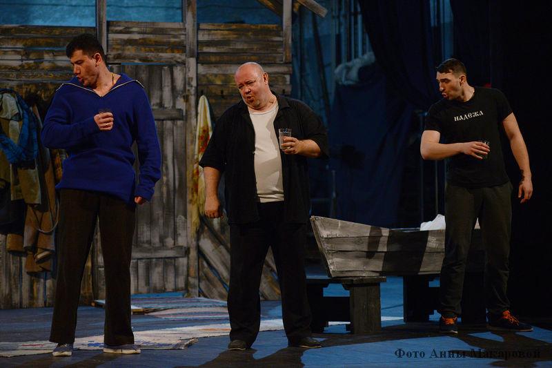 Репетиции народной комедии «Шутки в глухомани» по пьесе современного драматурга Игоря Муренко
