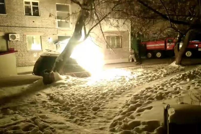 Новости курган сгорел авто