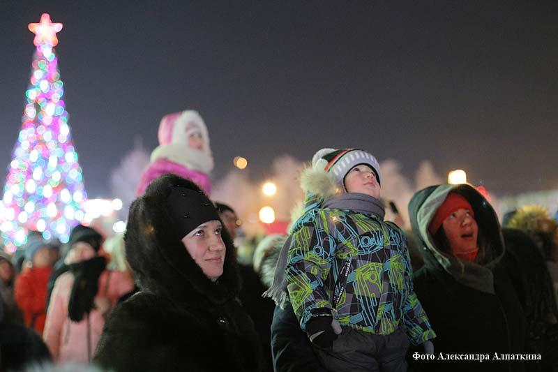 """Праздник микрорайона""""Новый год в Заозёрном - 2019""""."""
