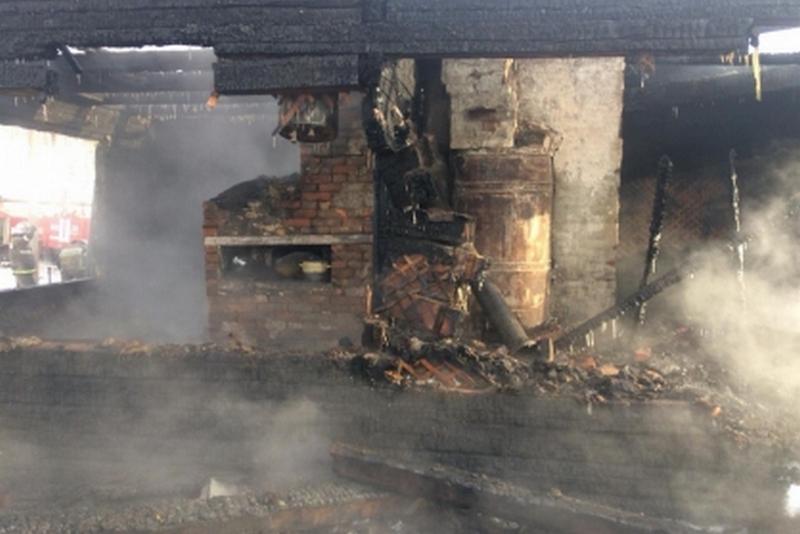 Новости КУрган погибли при пожаре