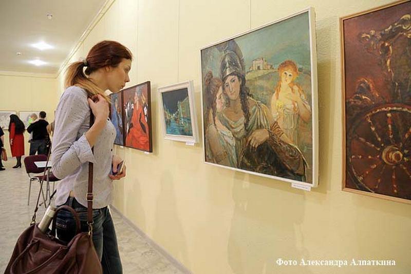 Новости Кургана персональная выставка Ирины Арослановой