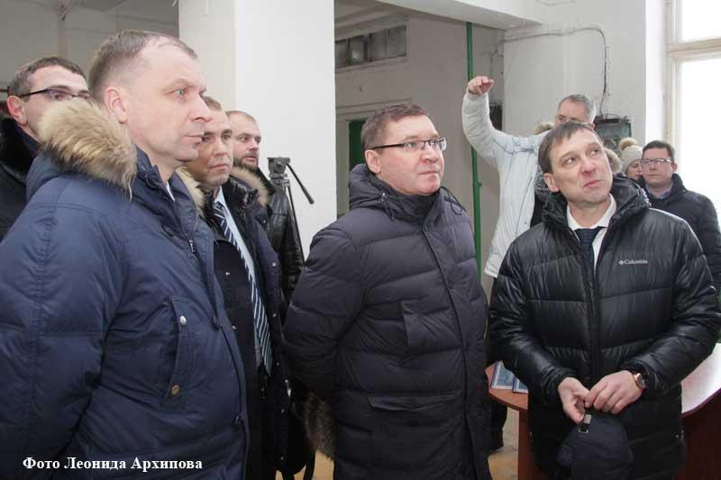 Визит главы Минстроя РФ Владимира Якушева в Курган