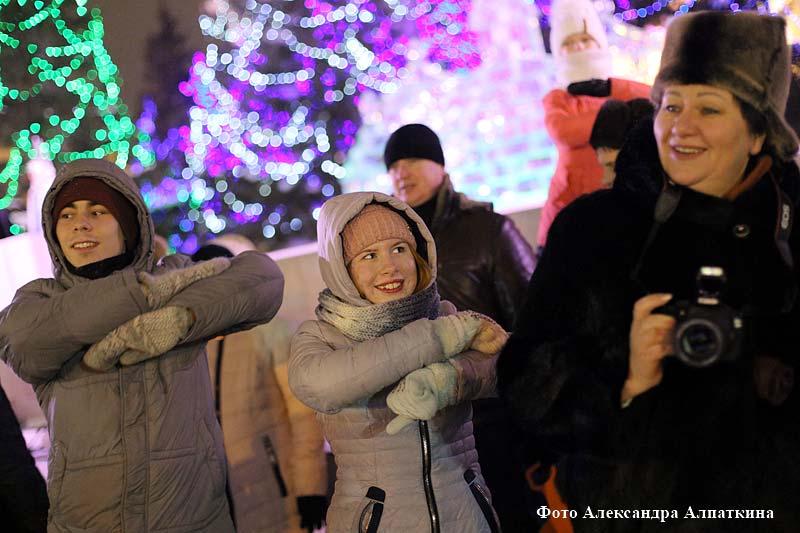 Курганцы встречают светлый праздник Рождества