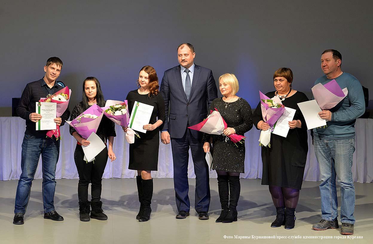 Награждение участников конкурсов.
